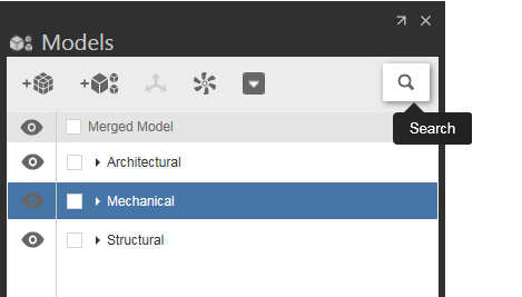 Search in BIM 360 Glue