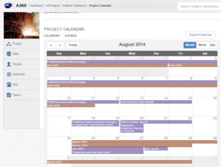 Calendar in A360