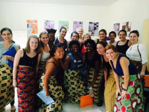 Fall 2014, Orienation to navigate in Senegal