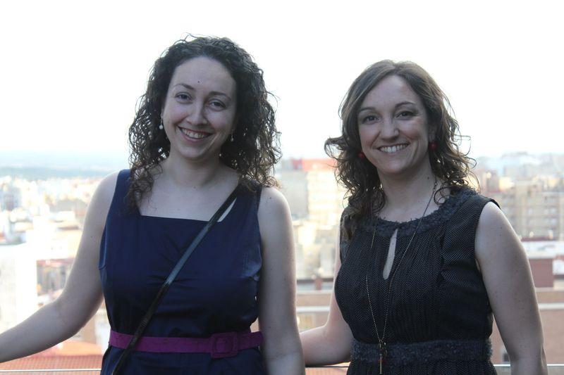 Laura y Ana Marcén, hermanas y socias de EcoMonegros