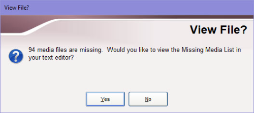 View log file