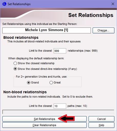 Set Relationships
