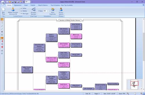 Standard Ancestor Chart