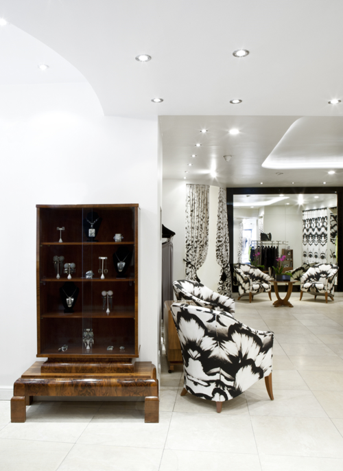 Maria Grachvogel store interior design and layout