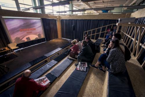 6. Screening at Adult Architecure Cinema