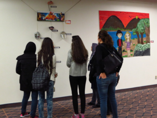 NYCH Newcomer Youth Arts Exhibit: Celebrating LSP Week 2015