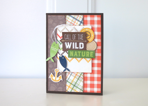 Summer Camp Card by Jana Eubank for #EchoParkPaper