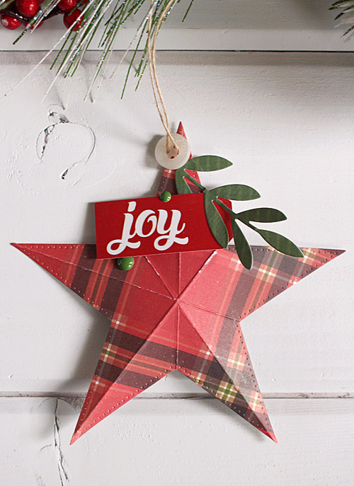 "Holiday stars by Kimberly Crawford with the ""I Love Christmas"" collection and designer dies by #EchoParkPaper"