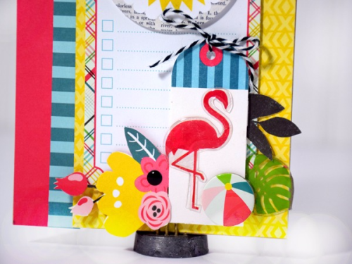 """Hello Summer card by Tya Smith with the """"Summer Fun"""" collection by #EchoParkPaper"""
