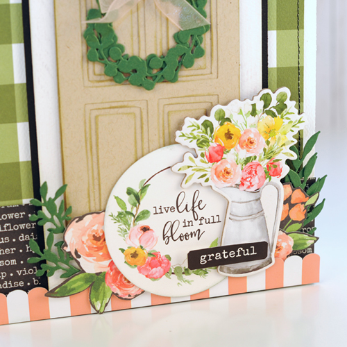 """Door Gift Bag and Card set by Jana Eubank with the """"Spring Market"""" collection from #CartaBellaPaper"""