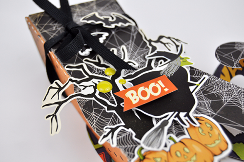 Witchs Boot Candy Box by Jen Gallacher for #EchoParkPaper and #CartaBellaPaper