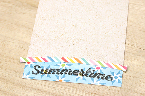 "Summertime card featuring the ""I Love Sunshine"" Collection and Designer Dies by Courtney Kelley for #echoparkpaper"