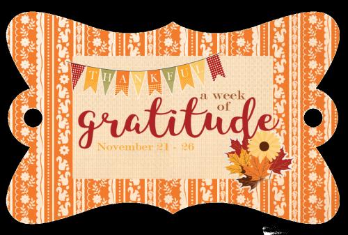 A week of gratitude #EchoParkPaper #CartaBellaPaper