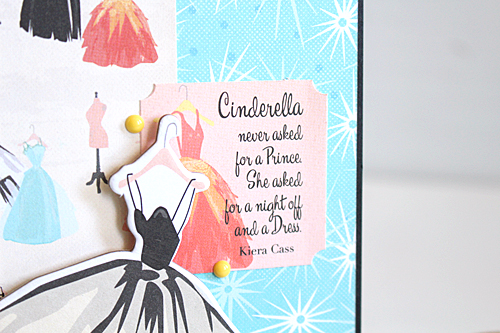 "Card by Kimberly Crawford with the ""Metropolitan Girl"" Collection by #CartaBellaPaper"