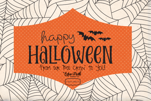 Happy Halloween 2017 from #EchoParkPaper and #CartaBellaPaper