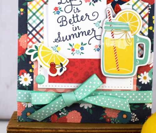 "Life is Better in Summer Card by Tya Smith featuring the ""Good Day Sunshine"" collection by #EchoParkPaper"