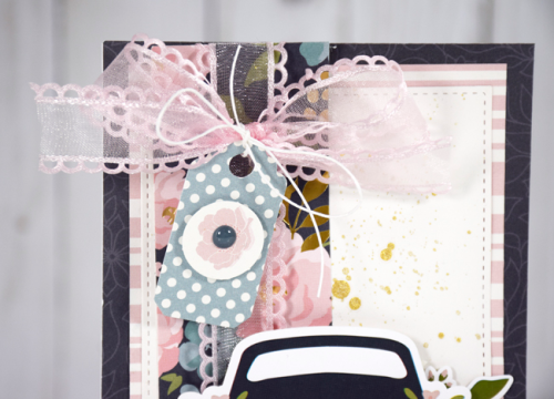 """""""Just Married"""" Card by Tya Smith for #EchoParkPaper"""