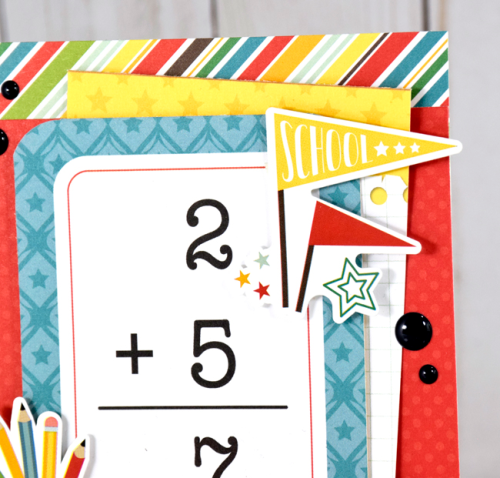 """Believe & Achieve"" card by Tya Smith featuring the ""Back to School"" collection by #EchoParkPaper"