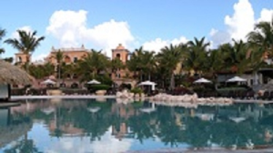 The main pool at Sanctuary Cap Cana.  Yes, it really is that beautiful.