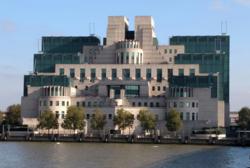 MI6 headquarters (really).