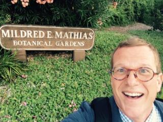 Adrian at Botanical Gardens