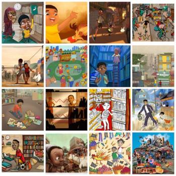 Golden Baobab para ilustradores 2014