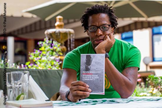 Día 95: Invisible – Stories from Kenya's queer community por Kevin Mwachiro (en la foto)