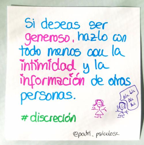 Discreción