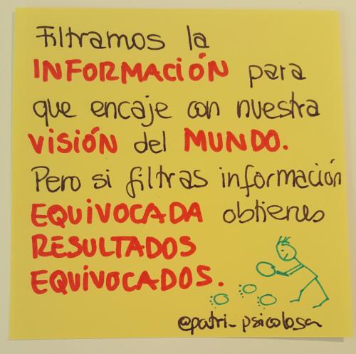 Filtrar información
