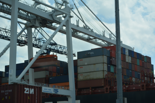 Containers at the Port of New York/New Jersey