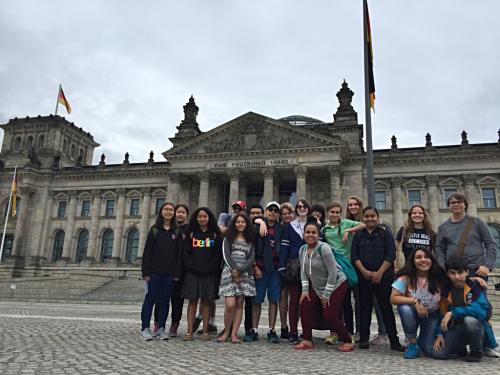 Reichstag Exterior