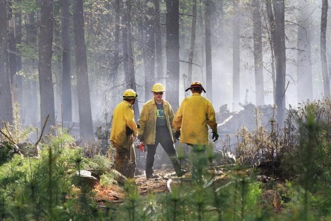 Rhode Island Wildfire