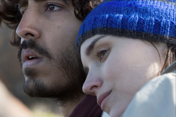 Dev Patel and Rooney Mara in a scene from LION