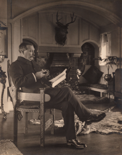 Photograph of Sir Arthur Conan Doyle, Emil Otto Hoppe, 1912