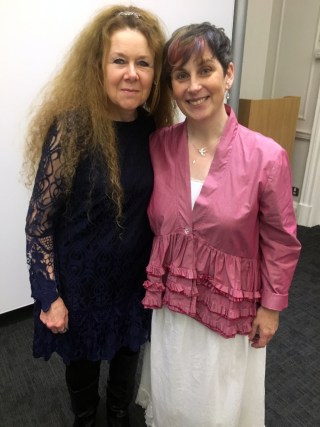 Christina Courtenay and Susanna Kearsley