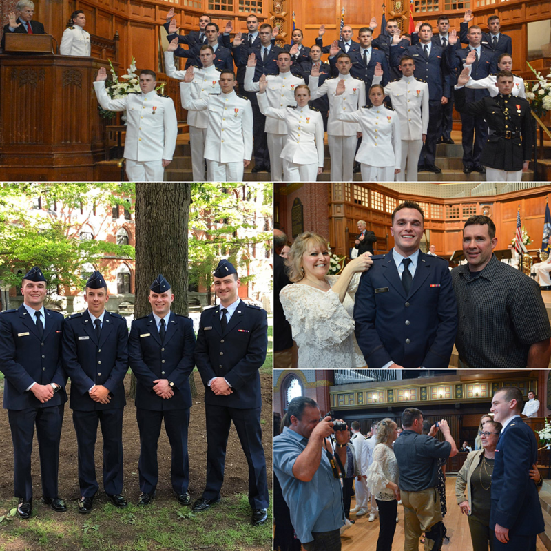 ROTC Commissioning Ceremony at Yale