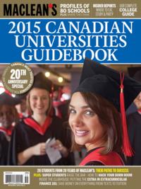 2015 Canadian Universities Guidebook