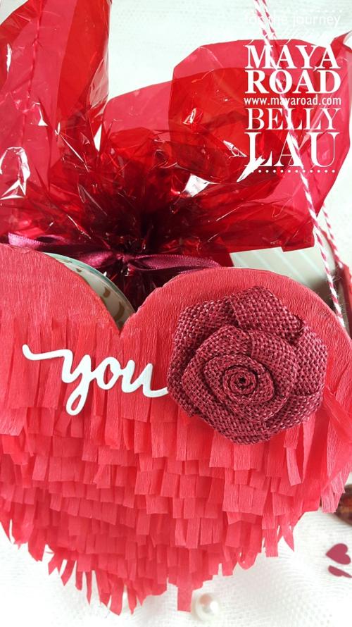 Love Pinata Mini Album - Maya Road - Belly Lau - Papercraft Buffet - Tutorial - Photo 10
