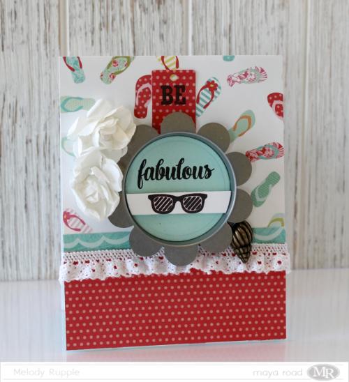 Be Fabulous July Card Kit