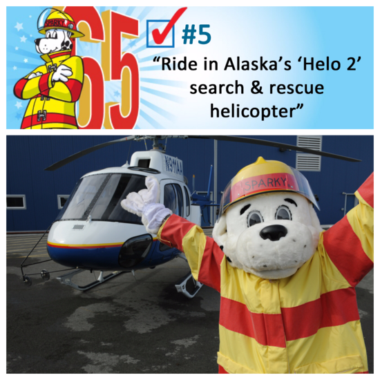 Sparky with Helo 2