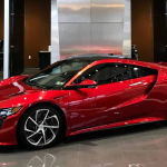 Acura NSX Design Includes Not-So-Subtle Nod to Flux Capacitor