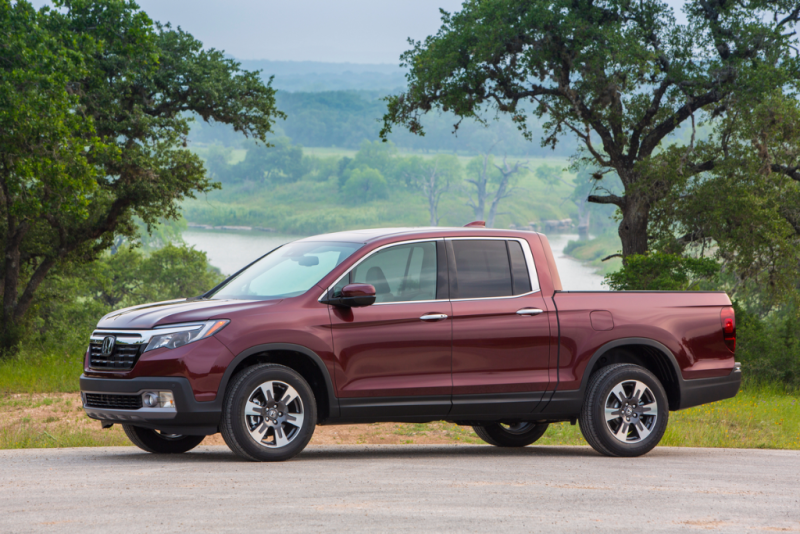 2017 Honda Ridgeline - KBB's Best Resale Value 2017 - Smail Honda Blog